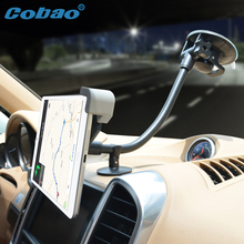 Cobao 7-11 inch long arm support tablet car navigation tablet PC holder accessories mount for car for Ipad mini pro Galaxy tab(China)