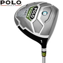 POLO Genuine New Golf Titanium Men Fairway Wood Club R 45.5'' 10.5 Degrees #1 Wood Graphite Shaft Sports & Entertainment Clubs(China)