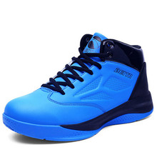Original Brand basketball shoes men slip damping genuine discount new winter wear and breathable high-top sneakers men shoes