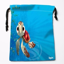 TF&11 New Finding Nemo Underwater World &7 Custom Printed receive bag Bag Compression Type drawstring bags size 18X22cm &81#11(China)