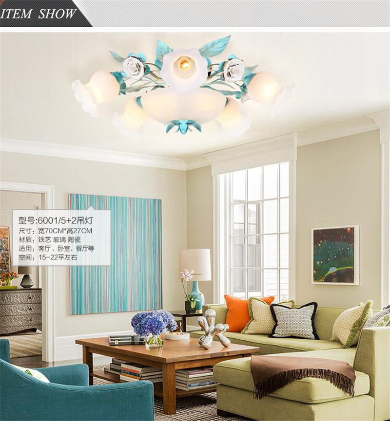Ceramic ceiling light (5)