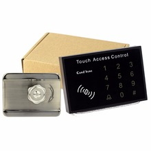 Electronic Door Lock Electric Lock + Touch Keyboard Access Control & Card Access Control System For RFID 125KHz Home Security
