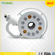 LED dental lamp with 12pcs led bulbs shadowless operation light