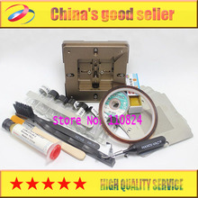 New upper and lower lid magnet BGA Reballing Station patent product auto adjust +10pcs Stencil+16 free Gifts+8pcs Solder Ball