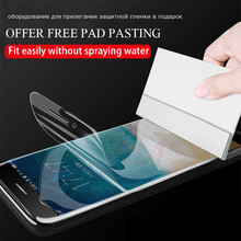 Buy H&A Soft Full Cover Screen Protector iPhone X 10 6 6s 7 8 Plus Hydrogel Film iPhone 7 8 6 Plus Film Tempered Glass for $2.99 in AliExpress store