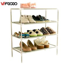 WFGOGO Shoe Cabinet Non-woven Shoes Racks Storage Large Capacity Home Furniture DIY Simple Dustproof Shoe Cabinet(China)