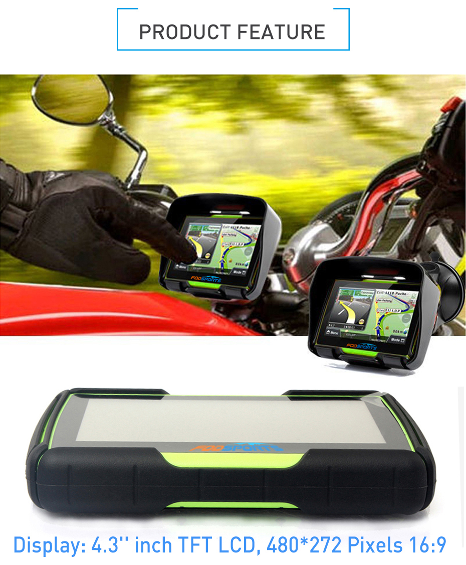 GPS Navigation Product Features