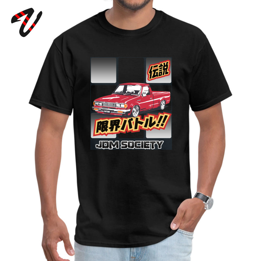 Men T-shirts Datsun Leisure Tops Shirts All Cotton O-Neck Short Sleeve Hip hop Tee Shirt Lovers Day Free Shipping Datsun 720 3714 black