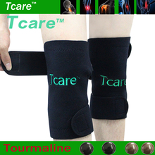 Tcare 1Pair Tourmaline Self-Heating Knee Leggings Brace Support Magnetic Therapy Knee Pads Adjustable Knee Massager Health Care(China)