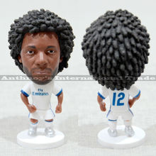"Soccer 12# MARCELO(RM) 2.5"" Toy Doll Figure Football Player dolls"