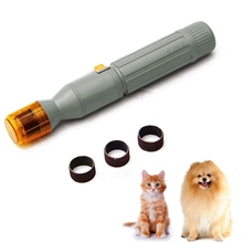 2017 New Electric Pet Dog Cat Pedi Nail Clippers Scissors Gentle Paws Claw Toe Nail Trimmer Groomer Products For Pet(China)
