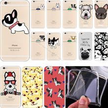 22 Styles Pattern Unique Dogs Silicon Phone Cover Case For Apple iPhone 6 iPhone 6S iPhone6 iPhone6S Cases Shell Best Choose Hot
