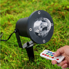 Remote Control 12W 7-Colors RGBW LED Water lines Stage Light Lamp Light Party Light Auto Lawn light CPD-SW