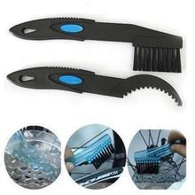 2 PCS Plastic Bike Bicycle Chain Clean Brush Cleaning MTB Road Cycle Chain Cleaner Scrubber Tool