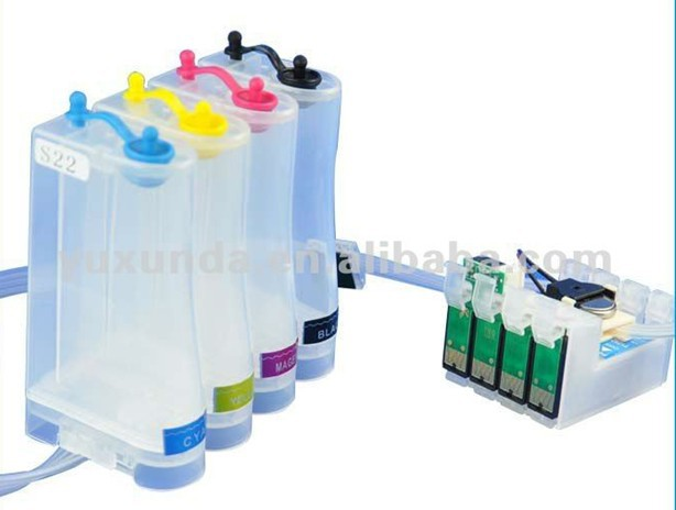 With ARC Chip Continuous Ink Supply System T0551,T0552,T0553,T0554 CISS For Epson Stylus Photo RX420,RX425,R240,R245,RX520<br><br>Aliexpress