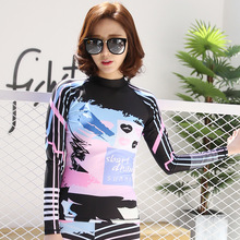 SBART Long Sleeve Women Scuba Diving Wetsuit Two Pieces Suit Surfing Snorkeling Swimwear Spearfishing Quick Dry Women Swimsuits