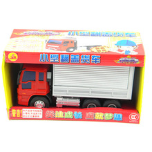 car model toys Engineering vehicle Clamshell truck van Refrigerated truck toy plastic Diecast Metal Modle Gift For Kids children(China)