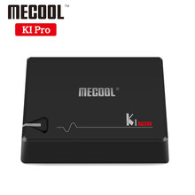 MECOOL KI PRO DVB Android 7.1 TV Box DVB-T2/DVB-S2/DVB-C Amlogic S905D Quad 2G+16G Support Set Top Box CCCAM NEWCAMD