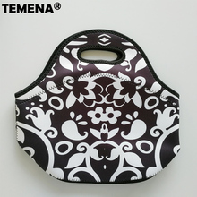 New Arrival Thermo Thermal Insulated Neoprene Lunch Bag Women Kids Lunchbags Tote Cooler Lunch Box Insulation Bag Maison Fabre(China)
