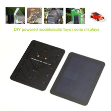 Mini Portable Solar Panel 5V High Efficiency Sunpower Solar Panel DIY Solar Charger for Phones and other 5V devices.(China)