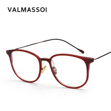 Metal women eyewear frames retro computer optical decorative myopia prescription clear transparent reading glasses frame #S22511(China)