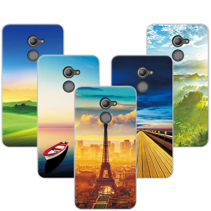 Phone Bags & Cases Good Quality Colorful Cases For Vodafone Smart N8 Vdf610 Printing Drawing Phone Girls Full Back Cover Silicone Soft Case