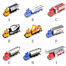 High Quality 1:64 Alloy Engineering Toy Car Mining Car Truck Children's Birthday Present Free Shipping