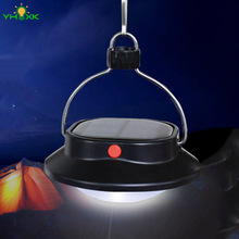 Portable Solar System Outdoor Equipment 60LEDS Camping Fishing Tent Emergency Lantern Lights Solar Camp Lantern(China)