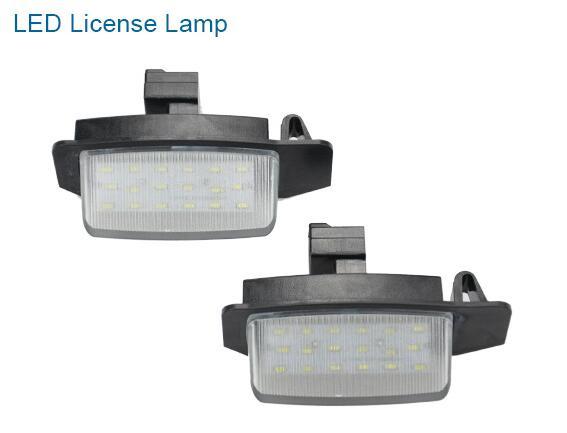 18 LED License Lamp for Mitsubishi Outlander Lancer Sportback 2006-2017 year<br><br>Aliexpress