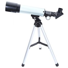 F36050M Single-tube Telescope Astronomical Telescopes Landscape Lens for Beginners with Eyepiece Tripo for Camping Hiking