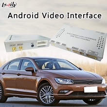 Car GPS Android Navigation System Video Interface Box For VW Lamando support MirrorLink HD 1080P Google MAP(China)