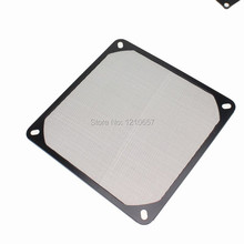 5 Pieces lot 140mm 14cm Aluminum Dustproof Cover Dust Filter for PC Cooling Chassis Fan Black
