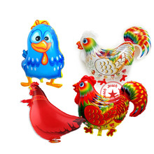 animal balloons birthday chicken duck balloon party decoration supplies inflatable animal shaped rooster hen party balloons