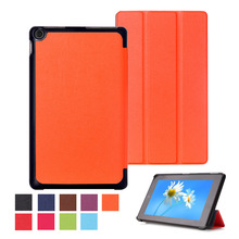 Unique design Magnetic Smart Cover For Amazon Kindle New Fire HD 8 HD8 2016 8.0 inch Tablet PU Leather Case Flip+Film+stylus+otg