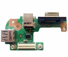 Reboto DQ15DN15 CRT Board For Dell N5110 with DC Power Jack port / VGA/ USB2.0 48.4IF05.021 100% Tested Fast Ship(China)