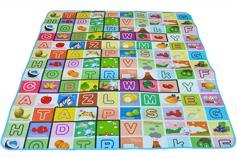 0.5cm Double Side Baby Play Mat Eva Foam Developing Mat for Children Carpet Kids Toys Gym Game Rug Crawling Gym Playmat Gift 17