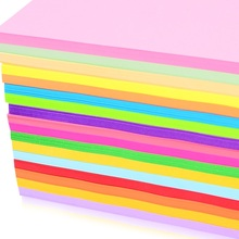 100 sheets Colored A4 copy paper 80g multicolour uncoated paper 12 colors to be choose(China)