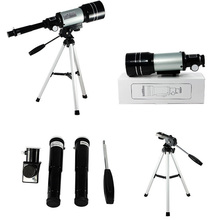 15x-150x High-Powered Magnification HD Telescope Monocular Height Adjustment Tripod Space Astronomical Telescope Spyglass