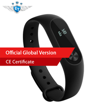 Global Version Xiaomi Mi Band 2 Miband 2 Smart band Bracelet Heart Rate Monitor Fitness Tracker Touchpad OLED for IOS & Android