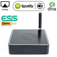 SoundStream WiFi Audio Receiver - Multi-room Sync - Wireless Airplay Music - High-end ESS Sabre DAC + Optical out - Spotify