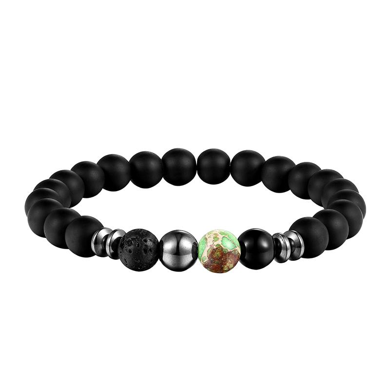Bracelet en pierre naturelle tendance mode