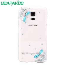 HOT 3D Luxury Bling Crystal Diamond Hard DIY Case for Samsung Galaxy J7 Prime On7 2016/S2 i9100/S7/E5/J7 Prime On7 2016(China)