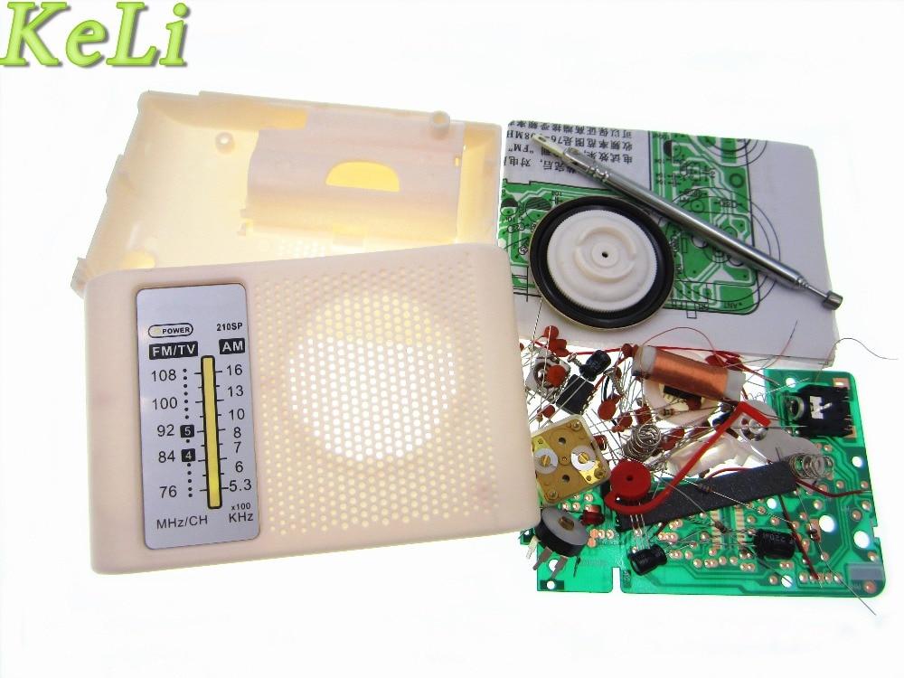 Новый 1 компл. 100% новый AM/FM стерео AM комплект радио/DIY CF210SP электронный Производственный комплект(China)