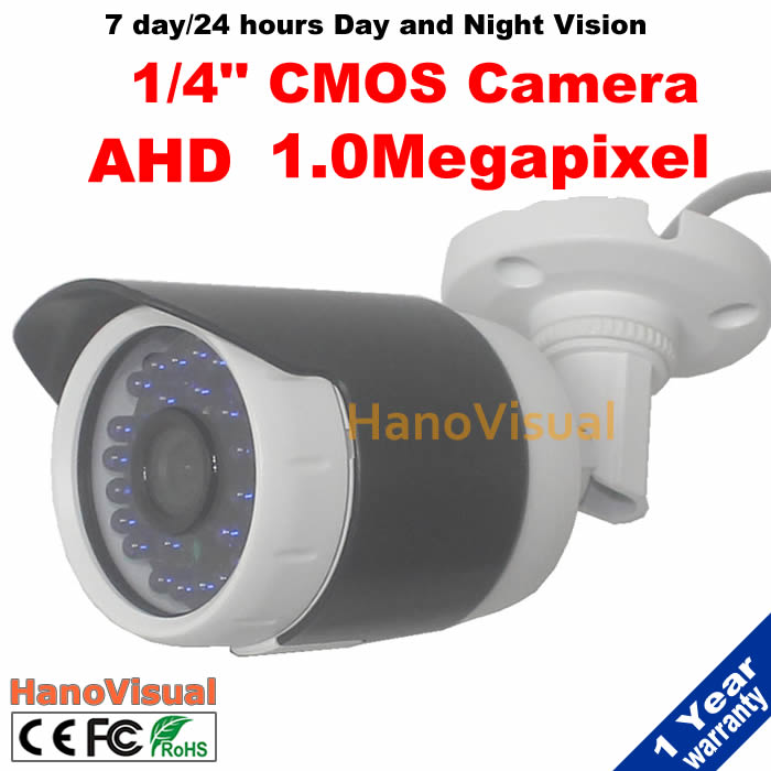 Free shipping!High Definition Analog Camera Night Vision CCTV Camera outdoor waterproof 720P AHD cam HD analog IR Bullet Camera<br><br>Aliexpress