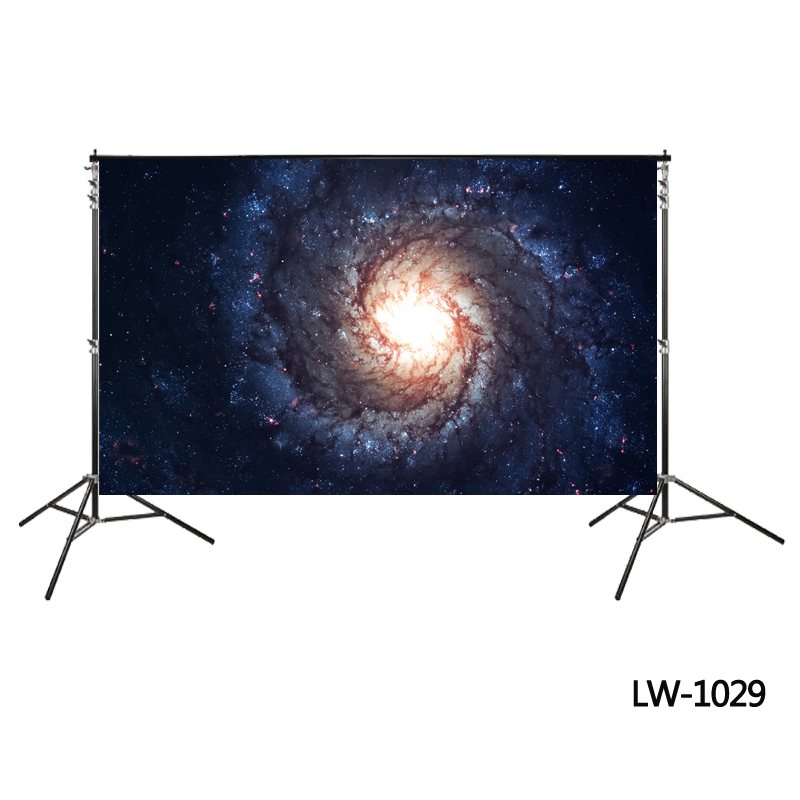 8x8FT Vinyl Wall Photography Backdrop,Galaxy,Stardust View in Space Photo Backdrop Baby Newborn Photo Studio Props
