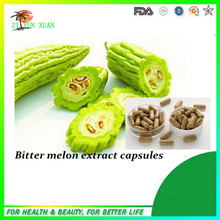GMP Natural Weight Loss Bitter Melon Extract Capsule/Charantin 500mg*600pcs
