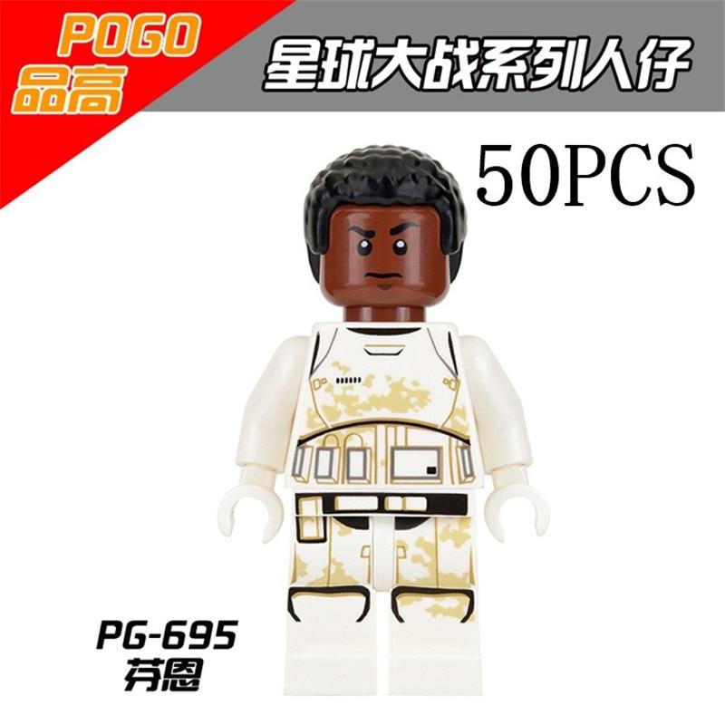 Lepin Star Wars Pogo XINH Wholesales PG695 Fenn 50PCS Building Blocks Bricks Toys Action Figures compatible legoe<br>