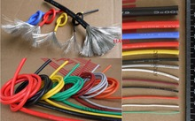 11AWG 5mm OD Flexible Soft Tinned Copper Silicone Wire RC Cable UL High Temperature 1 Meter