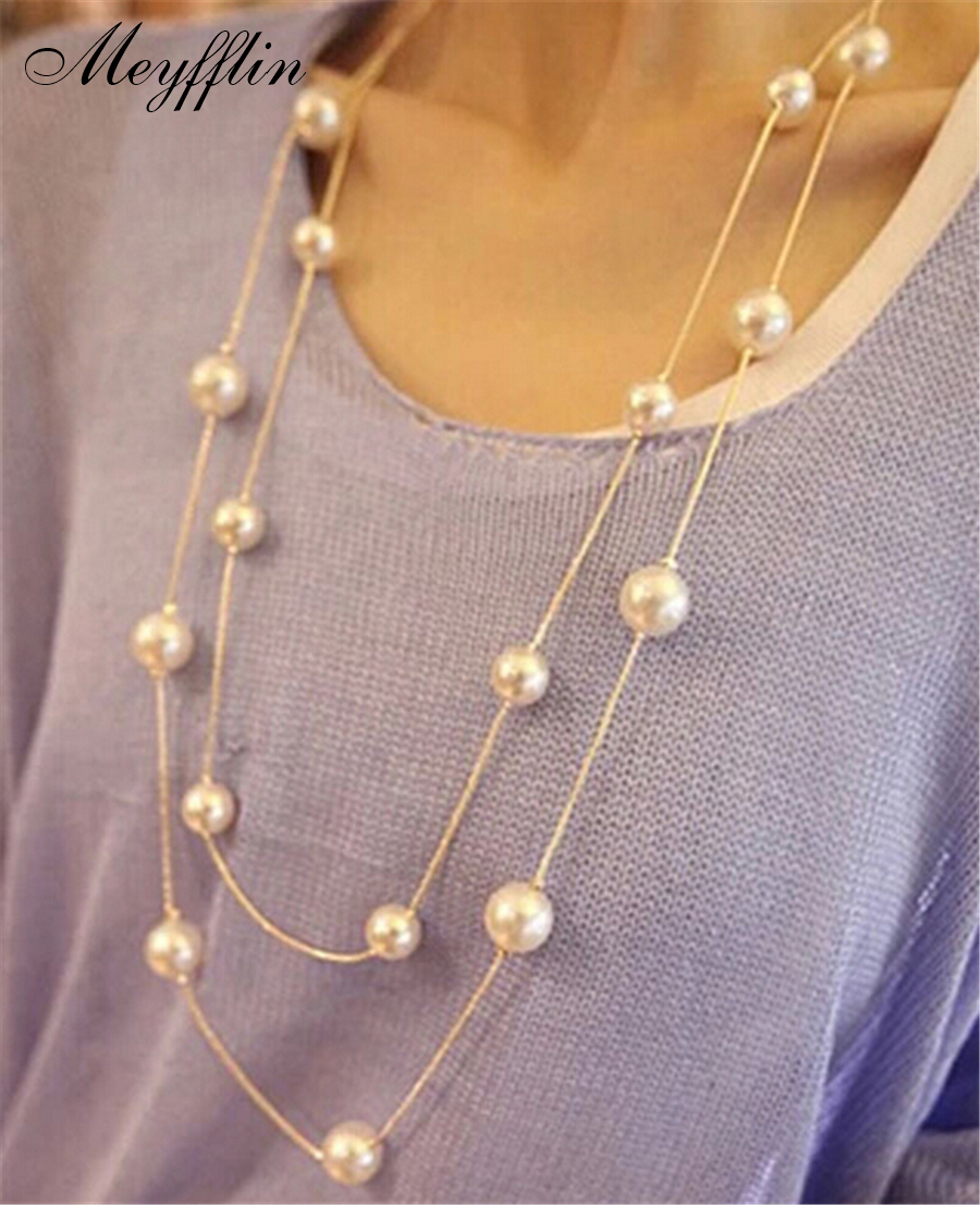 HTB1j3ywSpXXXXXCaFXXq6xXFXXXP - Simulated Pearl Jewelry Collier Fashion Long Necklaces & Pendants Big Multilayer Christmas Gifts Gold for Women Collares Bijoux