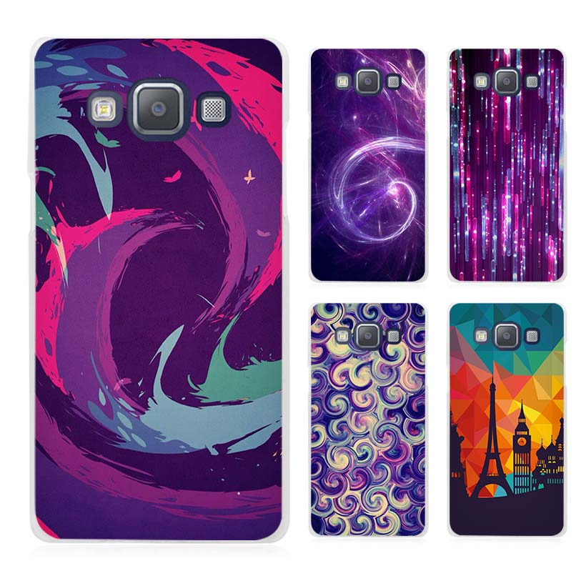Dust In Purple Light Artistic Clear Transparent Cell Phone Case Cover for Samsung Galaxy A3 A5 A7 A8 A9 2016 2017(China (Mainland))